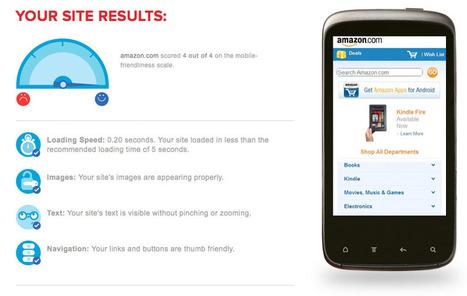 Google mobile sites : tester sa boutique pour le m-commerce | par Arnaud Merigeau | Agence Profileo : 100% e-commerce Prestashop | Scoop.it