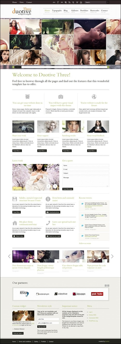 75+ Outstanding Wordpress Themes For Photographers | Technologie Au Quotidien | Scoop.it