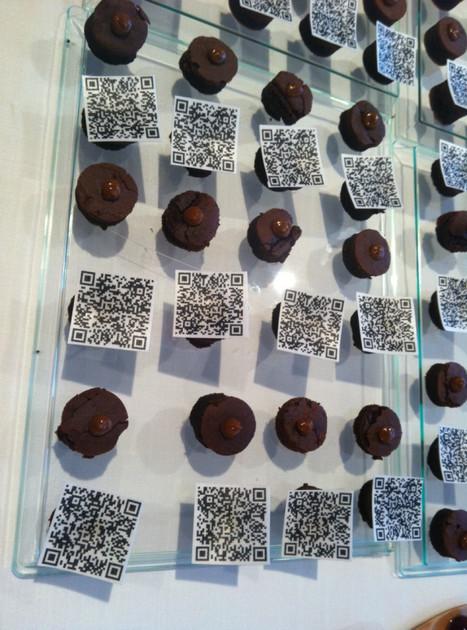 QR codes for dessert   QRdressCode   Scoop.it