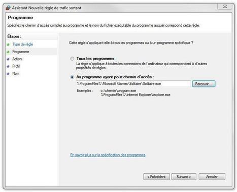 Comment empêcher un programme d'accéder à Internet   Informatique TPE   Scoop.it