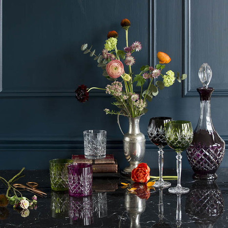 Crystalware, pattern, colour and more – features of a true English home | Decor Trends | Scoop.it