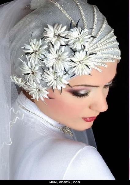 لفات طرح - صور اجدد لفات طرح عروس موضة جديدة | لفات طرح | Scoop.it