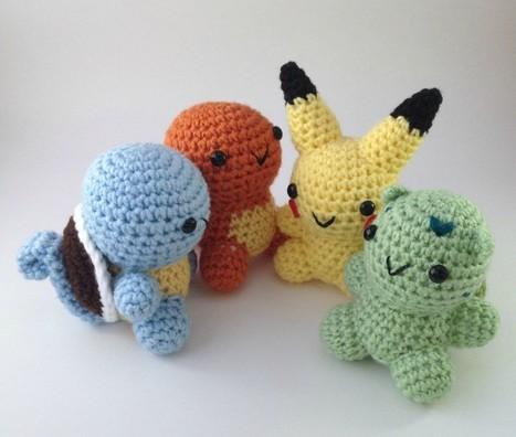 Video Game Crafts 'N Gear #82: Pokemon Amigurumi, Video Game Art Book ... - Gamersyndrome | crochet for babies | Scoop.it
