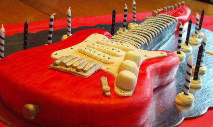 Ideas For Musical Themed Kid's Birthday Cake | Creative cakes, cupcakes, desserts and cake ideas | Scoop.it