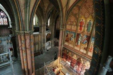 Bordeaux : les peintures du XIXe siècle de la Cathédrale Saint-André réapparaissent | Revue de Web par ClC | Scoop.it