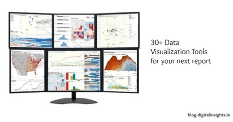 How to Make Your Data Pretty? Utilize These Data Visualization Tools | Social Media, Digital Marketing | Scoop.it
