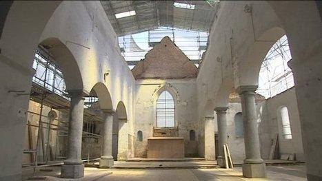 Incendiée, l'église de Lerzy restaurée à l'identique | L'observateur du patrimoine | Scoop.it