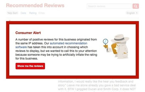 Yelp Uses Private Yelp Messages to Find Paid Reviews Evidence - The SEM Post | Digital Marketing | Scoop.it