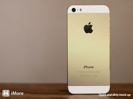 Apple All But Confirmed To Go For Gold With Next-Generation iPhone | iPad Sammy's Pinterest Page | Scoop.it