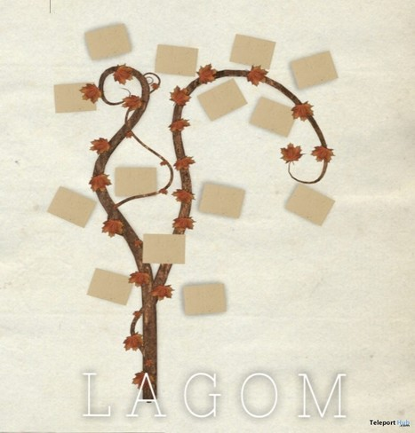 Vines Picture Frame Lost & Found Event Gift by LAGOM | Teleport Hub - Second Life Freebies | Second Life Freebies | Scoop.it