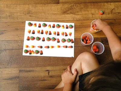 Toddler Approved!: Autumn Mix Candy Sequencing | Jardim de Infância | Scoop.it