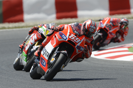 Ducati Team - Barcelona MotoGP 2013 | Sunday's Photos From Catalonia | Ductalk Ducati News | Scoop.it