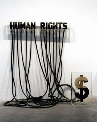 instalation art - Andrei Molodkin: Humain Rights | VIM | Scoop.it