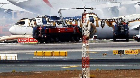 Emirates plane crash-lands at Dubai airport - BBC News | Aviation & Airliners | Scoop.it