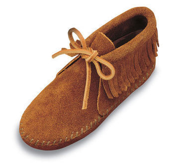 Classic Fringed Boot - Shop Mens, Womens, Childrens Moccasins - The Moccasin Shop | TheMoccasinShop | Scoop.it