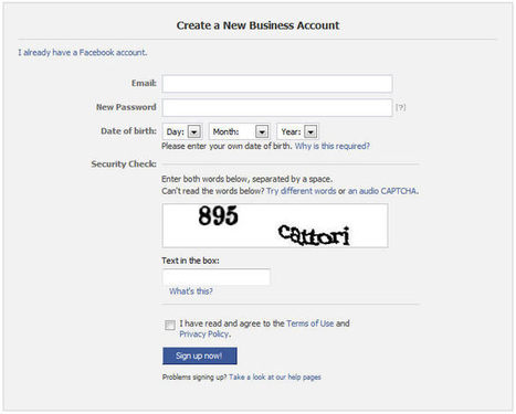How to Create a Facebook Business Page - October 2013 Update   DCP London Web Designers   Blog   Social Media   Scoop.it