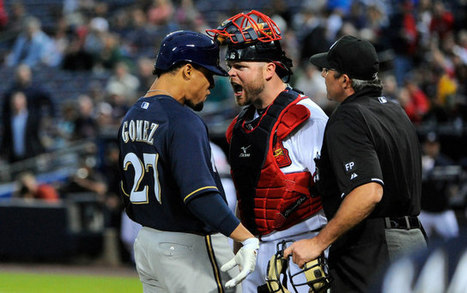 Carlos Gomez, Reed Johnson suspended one game following brawl | sports management | Scoop.it