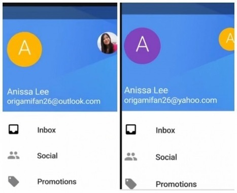Gmail's New Android App: Gain Yahoo, Outlook Account Support | Smartphones | Scoop.it