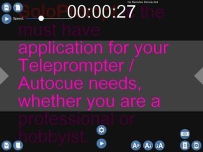 Un prompteur pour vos conférences ou présentations | Innovation, digital, communication | Scoop.it
