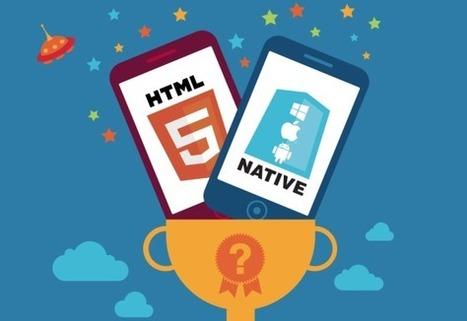 HTML5 vs. native vs. hybrid mobile apps: 3,500 developers say all three, please | Social media culture | Scoop.it