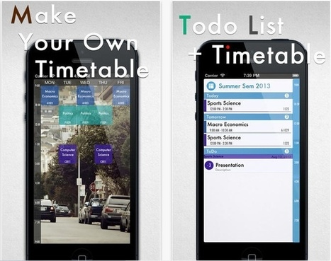 TimeHive – class timetable will make your schedule easy to follow | Best iPhone Applications For Business | Scoop.it