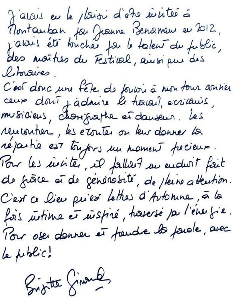 Lettres d'Automne 2016 | Actualités culturelles ici et ailleurs... | Scoop.it