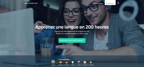 Lingvist :Apprenez une langue en 200 heures | Time to Learn | Scoop.it