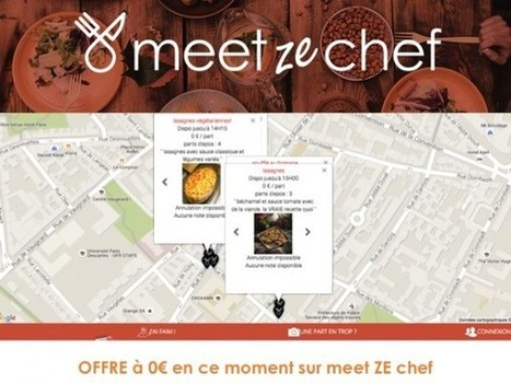 Découvrez Meetzechef! | De la Fourche à la Fourchette (Agriculture Agroalimentaire) | Scoop.it