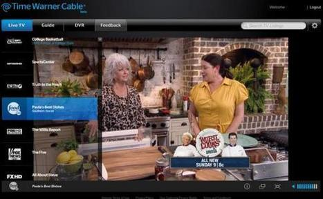 Time Warner Cable Streams Live TV To PCs, Macs | TV Everywhere | Scoop.it