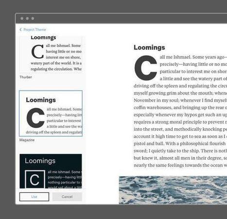 Atavist. Editeur de texte en ligne et plateforme dédiée à l'écriture | Time to Learn | Scoop.it