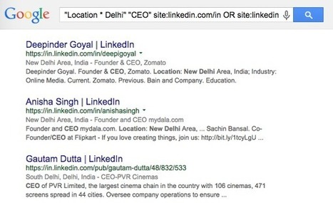 Find LinkedIn Profiles with Google Search | LinkedIn Marketing Strategy | Scoop.it