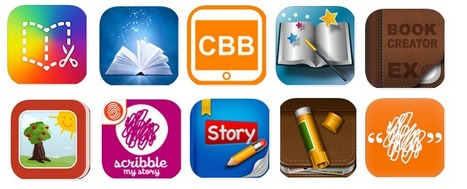 10 Good iPad Book Creator Apps to Use with Your Students ~ Educational Technology and Mobile Learning | Tablets in de klas | Scoop.it