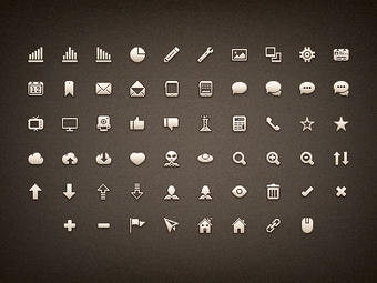 Dribbble - Premium Pixels Icon Set (PNG/CSH/PSD) by Matt Gentile | Free Design Resource Roundups | Scoop.it