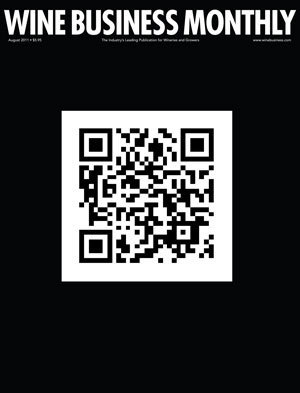 Wineries Connect with QR Codes in WBM's August Issue | Tag 2D & Vins | Scoop.it