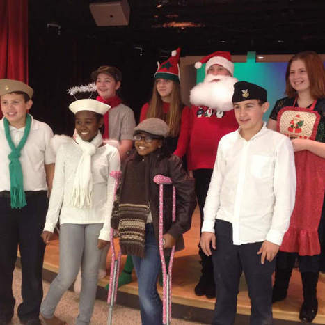 Children create holiday videos for troops overseas - Lake Forester | Military Connected Student Education | Scoop.it