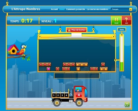 Jouer, compter, calculer avec l'Attrape-Nombres | Docs utiles pour la classe | Scoop.it