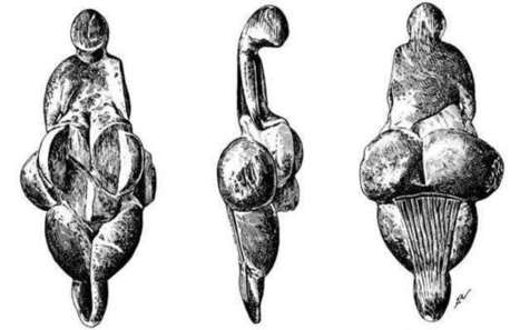 The Lespugue Venus is a 25 000 years old ivory figurine of a nude female figure | Prehistoric Art Class 9 | Scoop.it