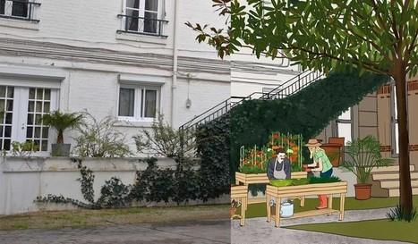 Créer un potager partagé dans une cour d'immeubles | Jardins urbains | Scoop.it