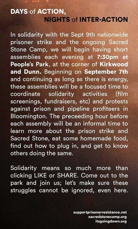 Support Prisoner Resistance | Helping people shine a protecting light on prisoner struggles | Humanizing Justice | Scoop.it
