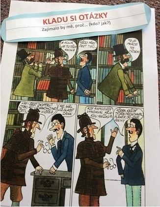 Čtenářské strategie, drahý Watsone... - U ČITELKY | Gramotnost | Scoop.it