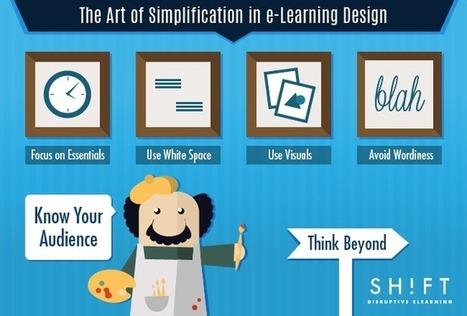 The Art of Simplification in eLearning Design | AprendizajeVirtual | Scoop.it