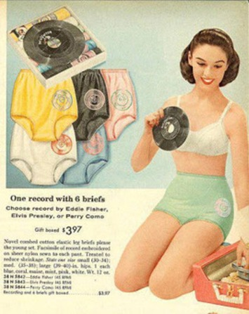 These Panties Spin Me Right 'Round, Baby! | Antiques & Vintage Collectibles | Scoop.it
