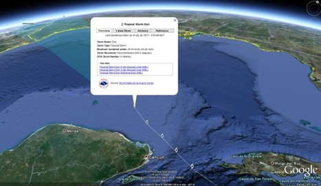 "Tracking hurricanes in Google Earth | ""Environmental, Climate, Global warming, Oil, Trash, recycling, Green, Energy"" 