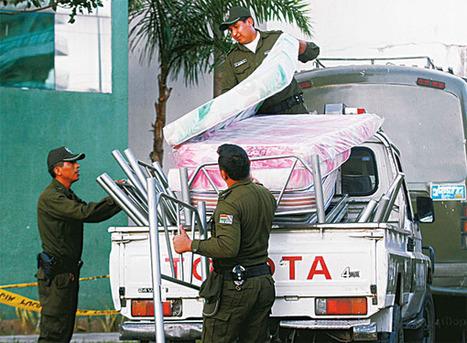 300 nuevos policías comen y duermen en el Comando - El Deber   realidades de bolivia   Scoop.it