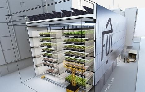 VIDEO. Villeurbanne: La première ferme urbaine s'offre une vitrine sur le campus de la Doua | Circuits courts de production innovante en collaboration ouverte | Scoop.it