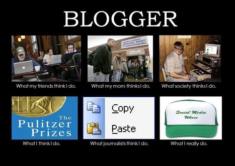 10 Signs You've Been Blogging for Too Long | Social Media SuperChargers | Scoop.it