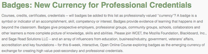 Mozilla to co-host MOOC exploring Open Badges as credentials | TRENDS IN HIGHER EDU