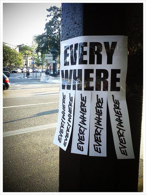 Everywhere | Flickr - Photo Sharing! | Street Art, échappatoire de l'oeil | Scoop.it