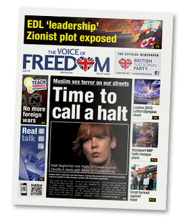 """Help build our counter media - subscribe today to the """"Voice of Freedom"""" 