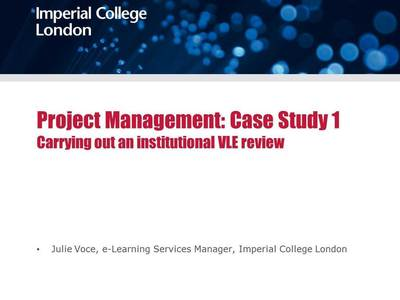 ocTEL Project Management Case Study 1 - Panopto Viewer | Learning & Technology | Scoop.it